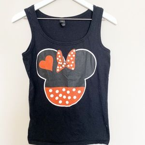 Anvil Minnie Mouse Graphic Tank Top
